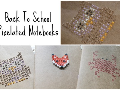 DIY: 3 Notebook Cover Ideas ♡ {Back To School} ♡ Jessica Joaquin