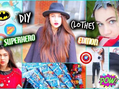 DIY Clothes - Superhero-Inspired Ideas