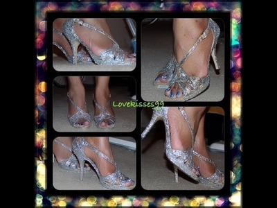♥DIY: Easy Glitter Shoes♥