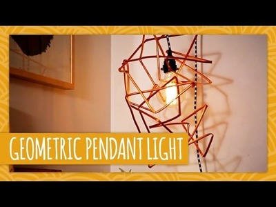 DIY Geometric Pendant Light - HGTV Handmade