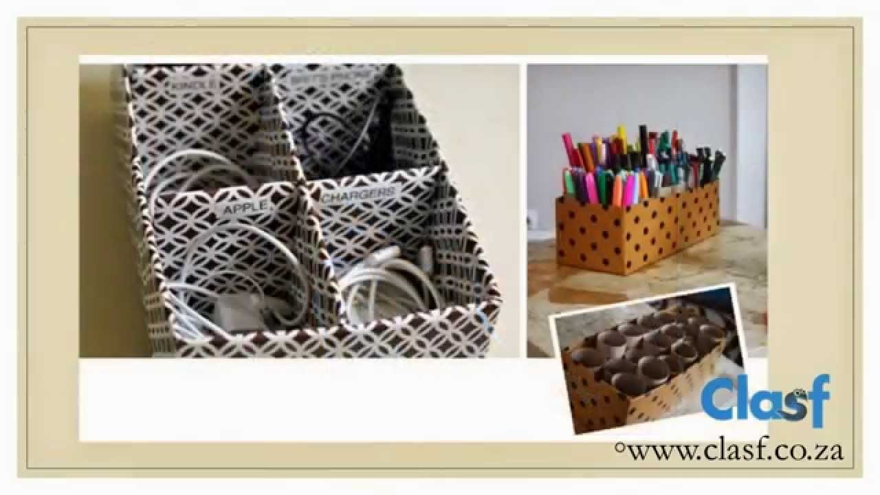 DIY - How to recycle shoe boxes?
