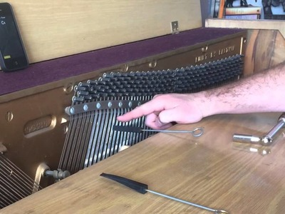 DIY piano tuning. tune your own piano - part 1 of 2 - tools, tuning middle C - DIY Music