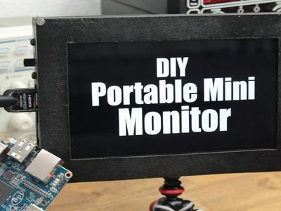 DIY Portable Mini Monitor - Part 1