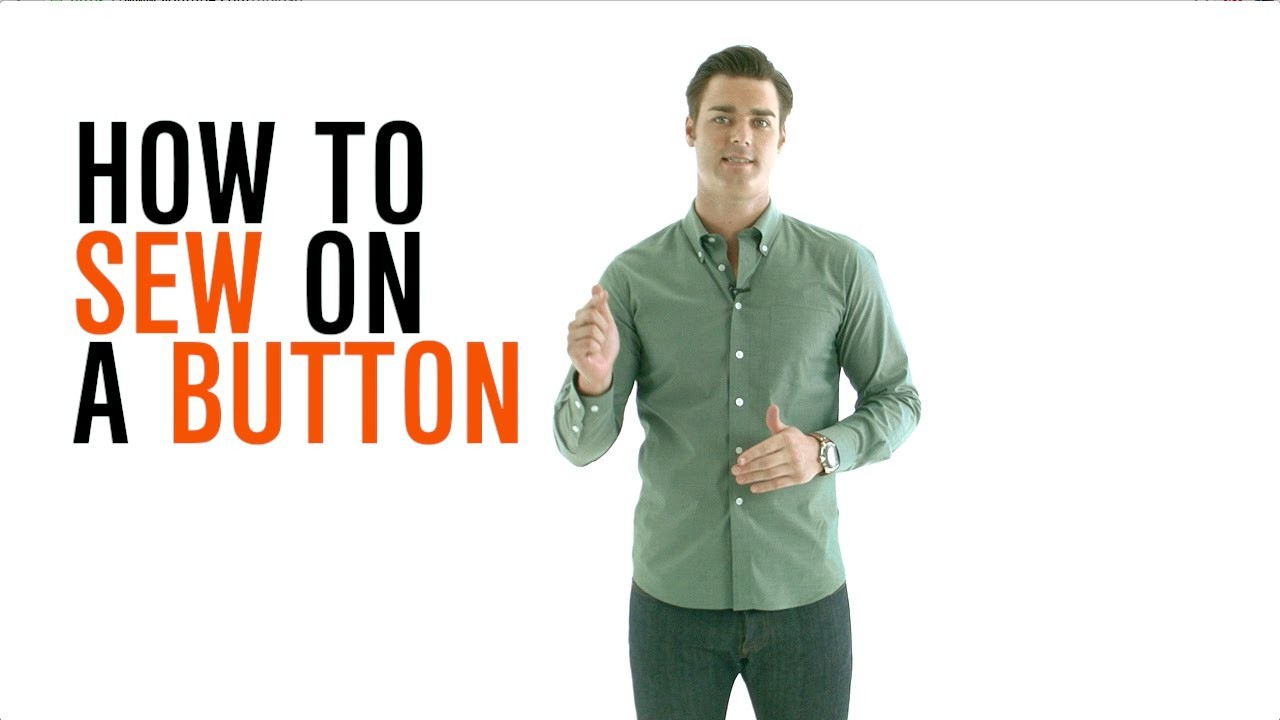Dress Smarter: How to Sew a Button