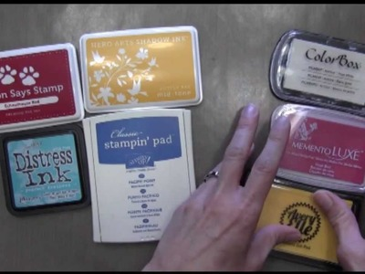 Getting Started with Inks:  Pigment or Dye?