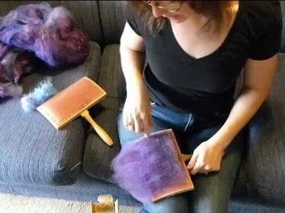 How to Card Wool - Technique Thursday #14
