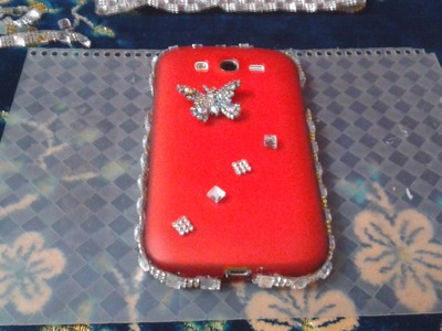 How to decorate your mobile cover