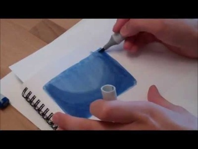 How to draw Backgrounds - Night Sky Background by Paigee