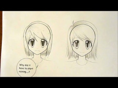 How to Draw Manga: Wet Hair