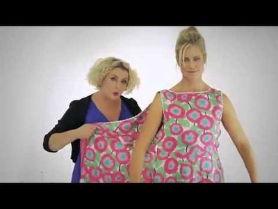 How to dress a lavender body shape with Flipit wrap dresses