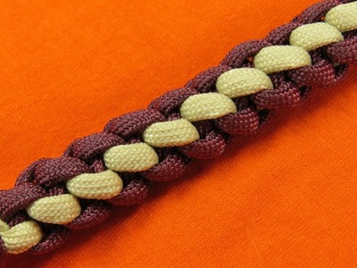 How to make a 3 Strand Crown Braid Key Fob Tutorial (Paracord 101)