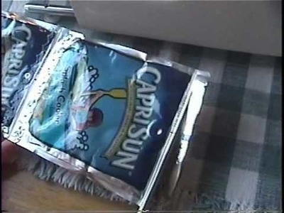 How to Make a Juice Pouch Wallet.