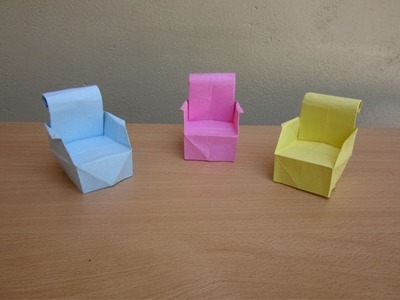 How to Make a Paper Armchair - Easy Tutorials