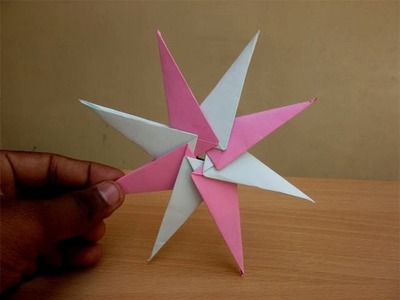 How to Make a Paper Sleek Ninja Star - Easy Tutorials