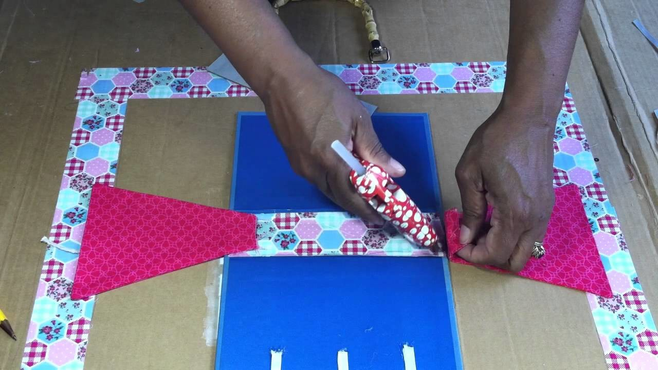 How to Make Book Purse part  2