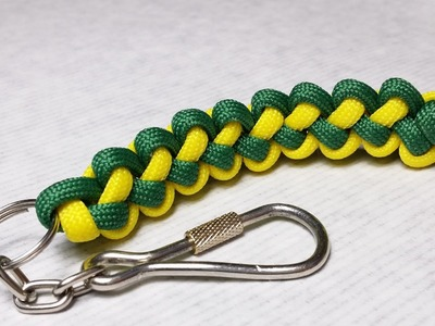 How to make Butterfly Stitch keychain scoobie