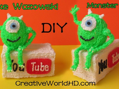 How to Make Mike Wazowski - 3D Printing Pen Creations.Scribbler DIY Tutorial