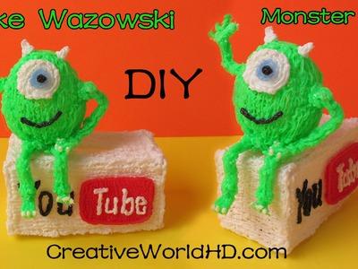 How to Make Mike Wazowski - 3D Printing Pen Creations.Scribbler DIY Tutorial