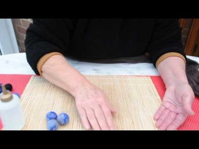 How to Wet Felt Beads the Easy Way