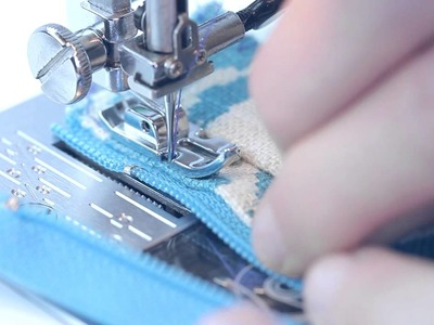 Learn How To Sew a Lapped Zipper   Sewing Beginner   German