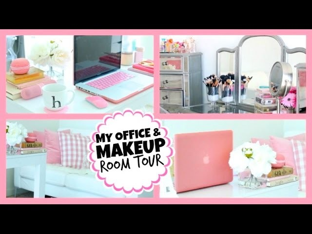My Office.Makeup Room Tour! ♡ ThatsHeart