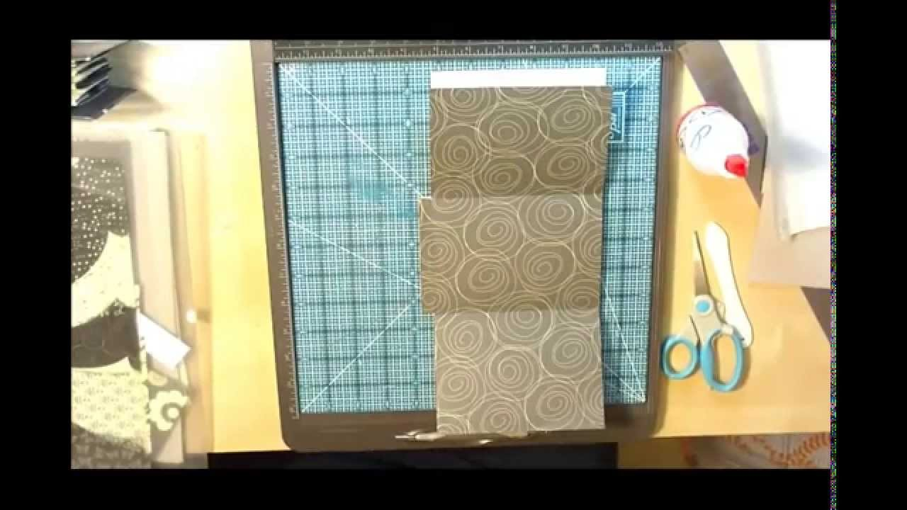 One Page Binding Mini - part 1