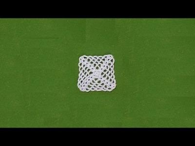 Piastrella all'uncinetto facilissima   very easy crochet granny square   tutorial