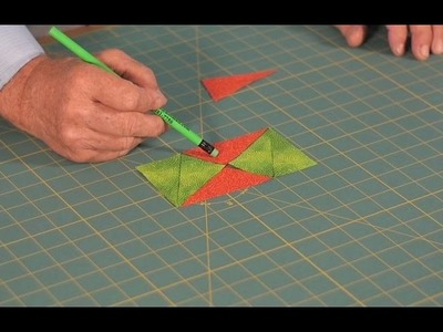 Quilting Tutorial - How to Cut Batwings & Hexagonal shapes