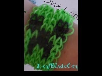 Rainbow Loom Creeper Friendship Bracelet