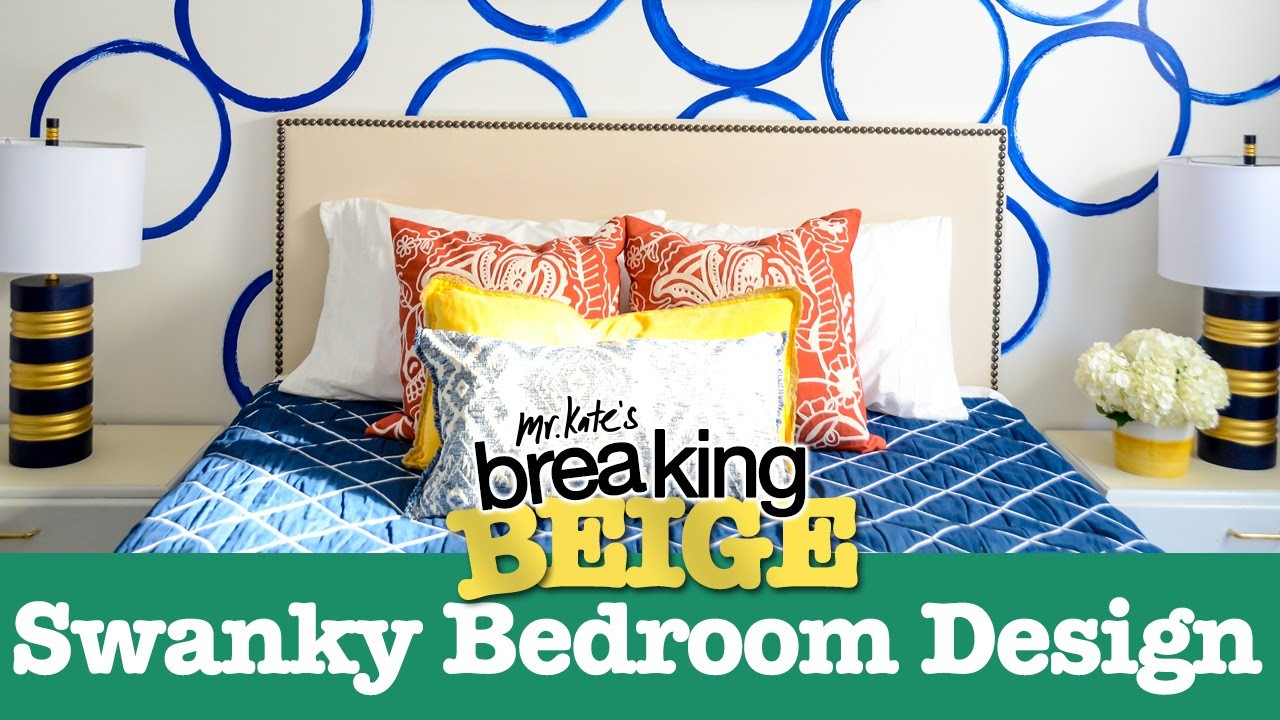 Swanky Bedroom Design (PART 2) | Breaking Beige | Before and After | DIY Home Decor | Mr Kate