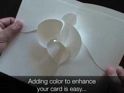 Tip 7 - Adding Color - Kirigami Pop-up Card