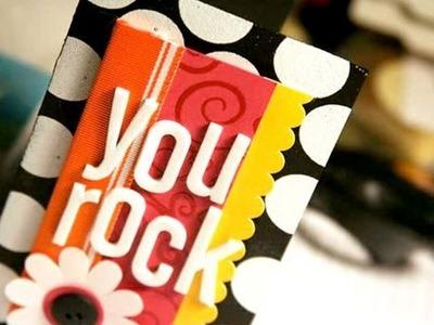 You Rock - Make a Card Monday #36