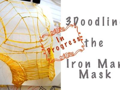 3Doodling the Iron Man Mask