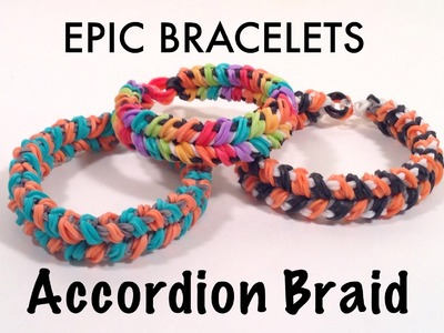 Accordion Braid Bracelet Tutorial