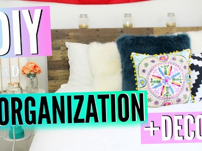 Back To School DIY Room Decor & Organization! Redecorate Your Room On A Budget For Back To School!