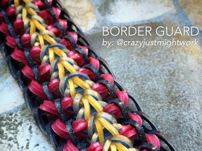 BORDER GUARD Hook Only bracelet design