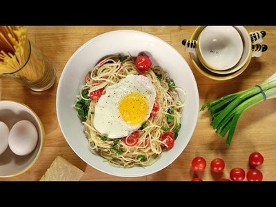 Breakfast Pasta Recipe | Eat the Trend