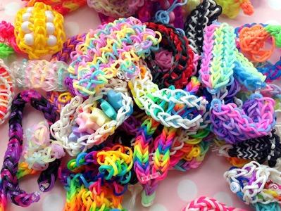 Charmsy i bransoletki z gumek Rainbow Loom