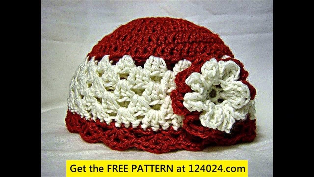 Crochet baby newsboy hat free pattern