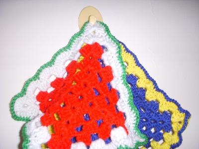 Crochet Pot Holder Part-2