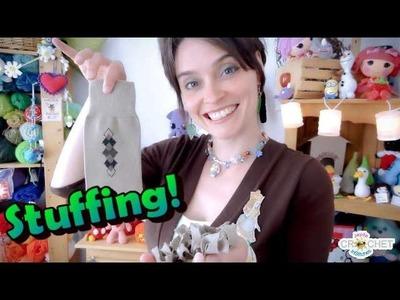 Crochet Quick Tip - Alternative Stuffing Options