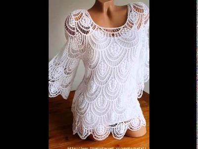 Crochet shrug| how to crochet vest shrug free pattern tutorial for beginners 17