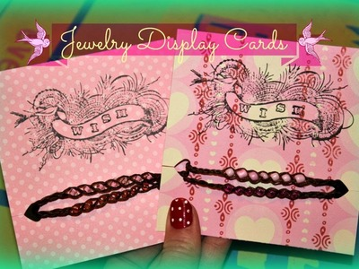 Display Card for Jewelry DIY