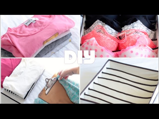 DIY Clothing Drawer Organization Tips | Rachel Talbott