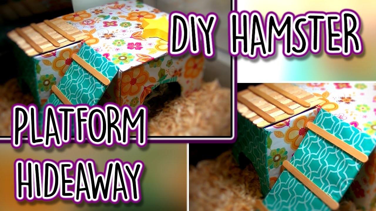 DIY Hamster Platform Hideaway