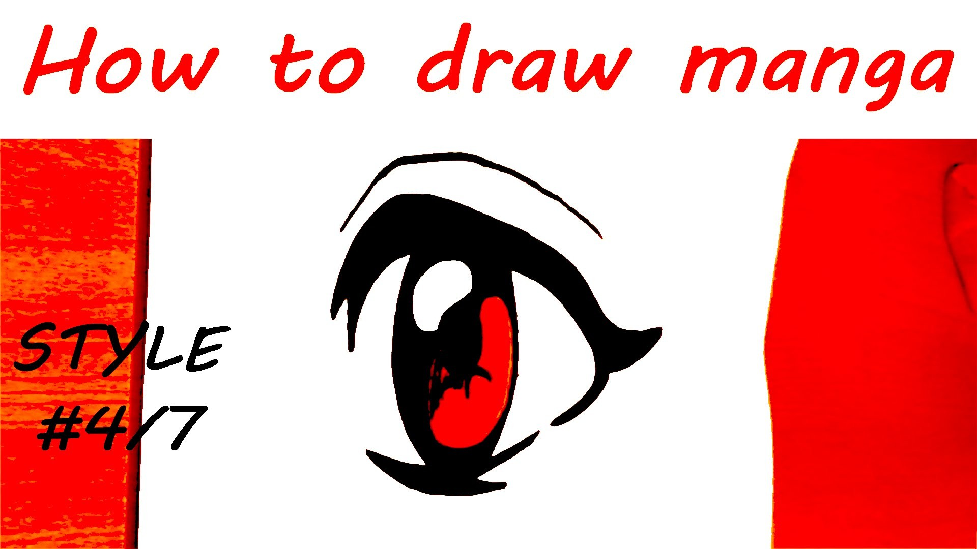 DIY How to draw easy stuff.things but cool on paper: draw MANGA Eyes ...