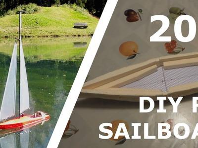 DIY RC SAILBOAT FOR 20$! [Part 2]