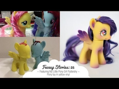 Faceup Stories: 25 { My Little Pony Fluttershy }