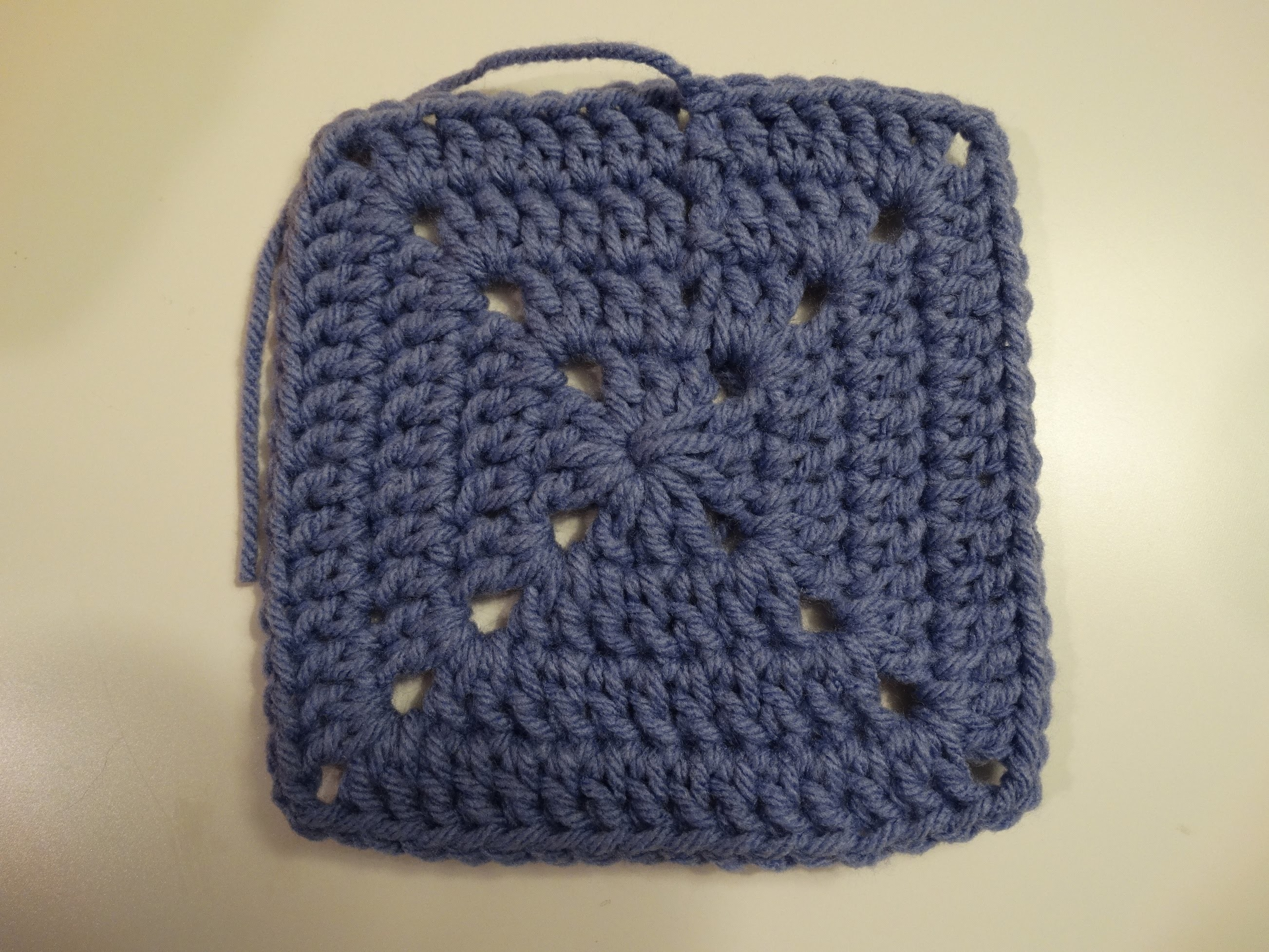 Granny Square Tutorial - Part One Throw Blanket