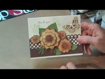 Heartfelt Creations meets Spellbinder flower nests